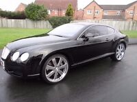 "Bentley Continental 6.0 GT 2dr £4000 22"" CHROME ALLOYS"
