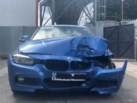 BMW 3 SERIES F30 M SPORT N20B20 ENGINE, GS6-17BG GEARBOX BREAKING FOR PARTS