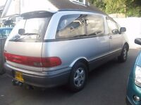 1993 TOYOTA ESTIMA 4X4 DIESEL 6/7 SEATER AUTO YEARS MOT T/BAR POSS/ PART X