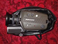 BAUER C 500 XLM SUPER 8 CAMERA - UNMARKED - LIGHT METER FAULTY - OTHERWISE VGC - £49.99 ONO.