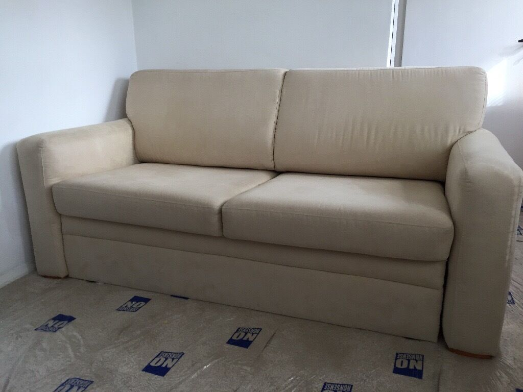 Large Cream Sofa Bed From John Lewis