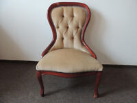 High back parlour chair / nursing armchair (delivery)