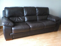 3 and 2 seat, Reid, leather sofas for sale