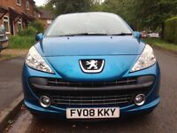 Bargain car Peugeot 207 1.4p 10 mnths mot clutch replaced 99k plus more done read ad very good car!!