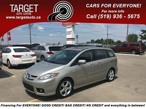2007 Mazda MAZDA5 GT, Loaded; Alloys, Roof and More !!!!!! London Ontario image 1