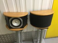 Monitor Audio Gold Reference Rear Di Pole Speakers *LIKE NEW CONDITION*