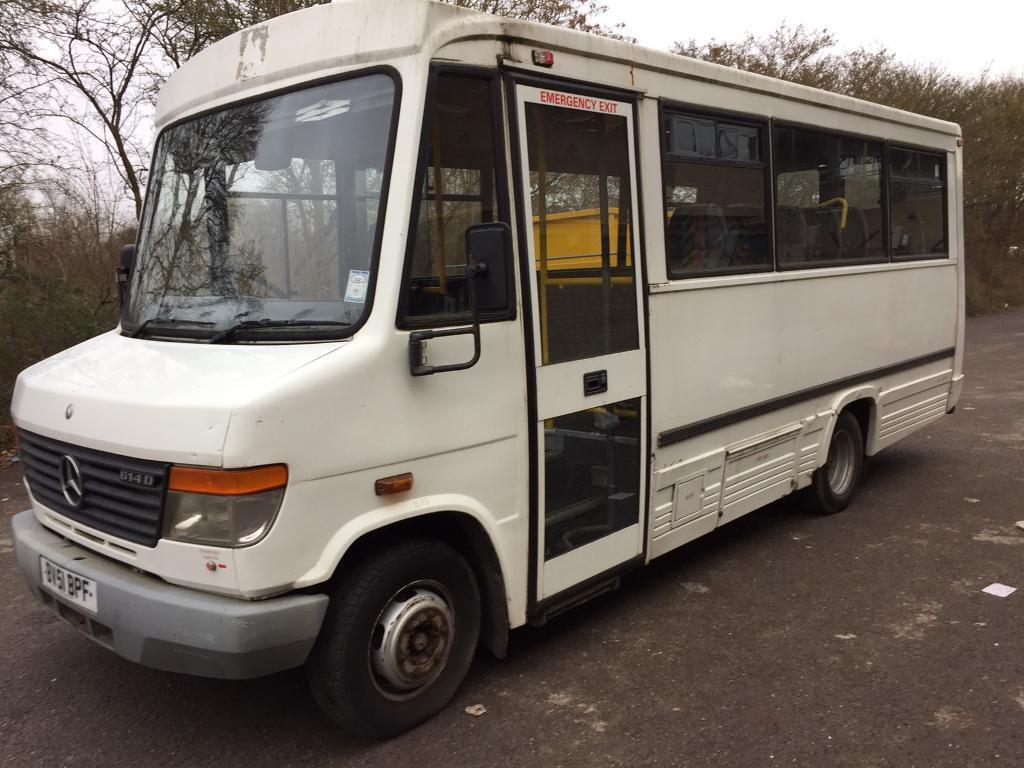 mercedes vario 4 2 614 mwb auto 2002 only 52000km 2 owners in milton keynes buckinghamshire. Black Bedroom Furniture Sets. Home Design Ideas