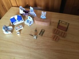 Sylvanian Families Regency Hotel Figures and Accessories Bundle.
