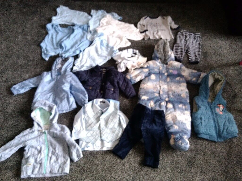Baby boy 6-9 & 9-12mths collect ml5