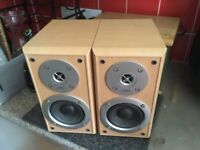 Hitachi 50w (peak) bookshelf loudspeakers £25 ONO