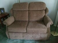 """"""" seater sofa and one matching armchair"""