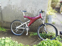Trek Y22 full suspension Carbon Framed Retro Mountain Bike