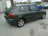00 Audi A3 1.6 One owner Full service history Moted Nov 17 nice car ( can be viewed anytime)