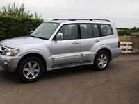 MITSUBISHI SHOGUN 3.2 DID IMMACULATE.L200,WARRIOR,RANGER,HILUX,TRANSIT,VAN,4X4, lots of diesel power