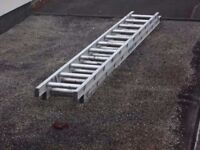 3.5m DOUBLE TRADE EXTENSION LADDER 14 RUNG