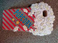 IPhone 5c Popcorn silcon case from Clares Accessories