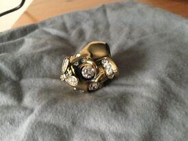 alexander McQueen men's ring
