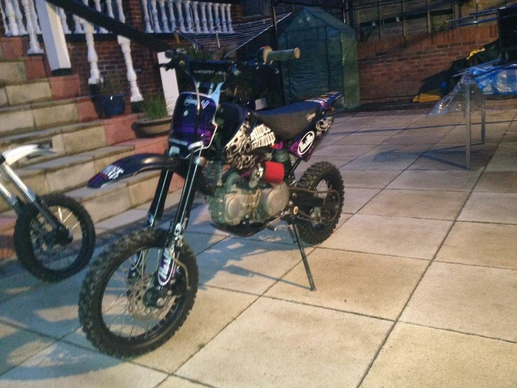 Super Stomp Crf70 140cc Z40 Not Demon X Pit Bike M2r Crosser