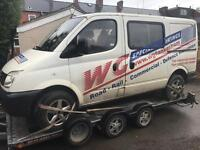 Ldv Maxus breaking for parts 2008 Swb factory crew van