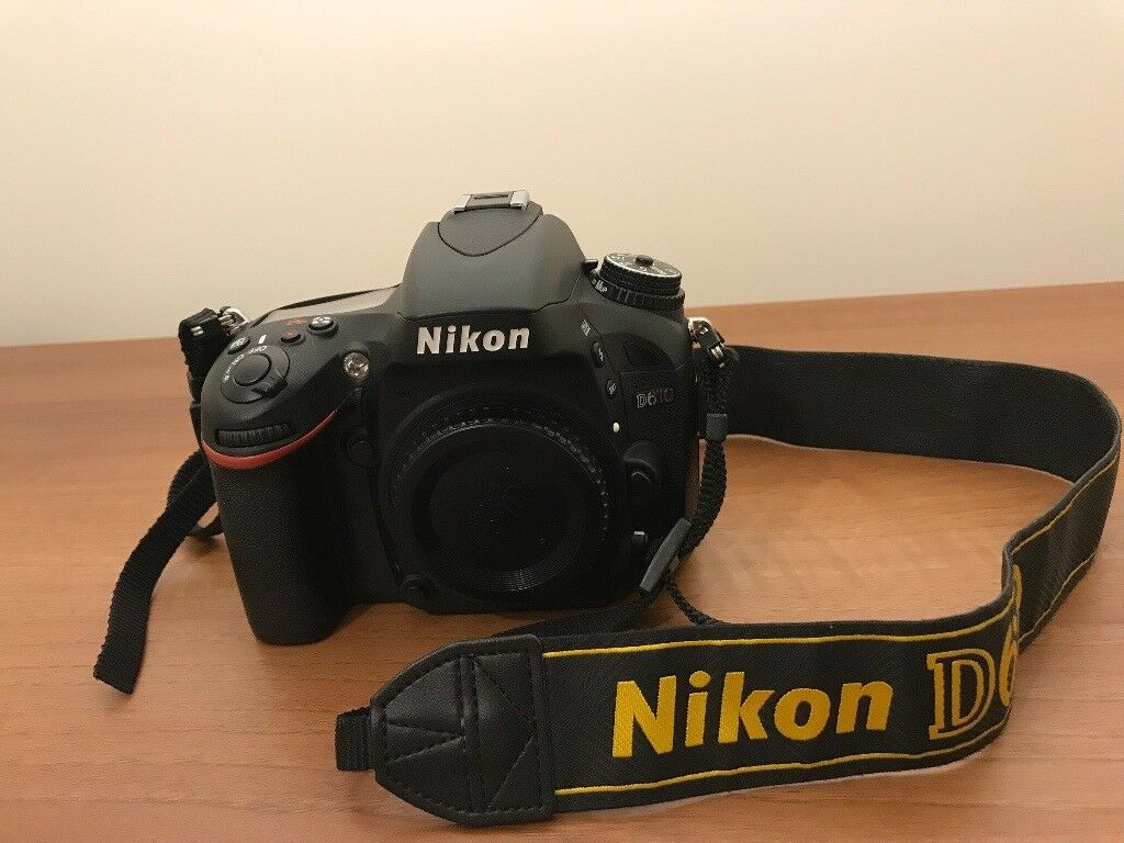 Nikon D610 Full Frame Camera (Hardly used Mint Condition) | in ...