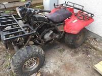 Honda Trx 350d 4x4 quad. Spares or repair. (Like Big Red Kawasaki 300)