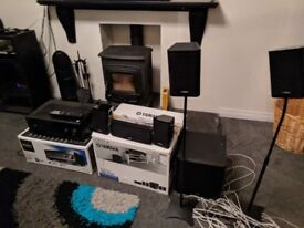 Complete Home Cinema Sound System 7.2 AV Receiver and 5.1 Speakers