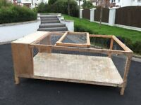 Large Cage for small pets: rabbit, guinea pig, hamster, chickens..