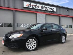 2012 Chrysler 200 LX 2.4L VVT 106K