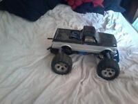 2wd nitro stampped and a 2wd team associated sc10