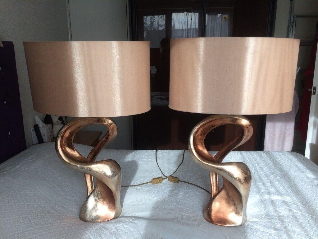 Dar lighting alchemy table lamps x 2 in sittingbourne kent gumtree