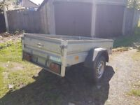 Humbaur Trailer - German 1 m x 2 m