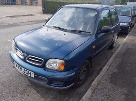 2000 NISSAN MICRA 1.0..low MILES..clean car