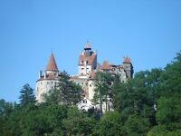 Castles Tour Romania Gothic Ruins Pele, Bran, etc. Driving. (Email reply not working)