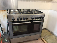 Kenwood duel fuel LPG gas and electric oven cooker