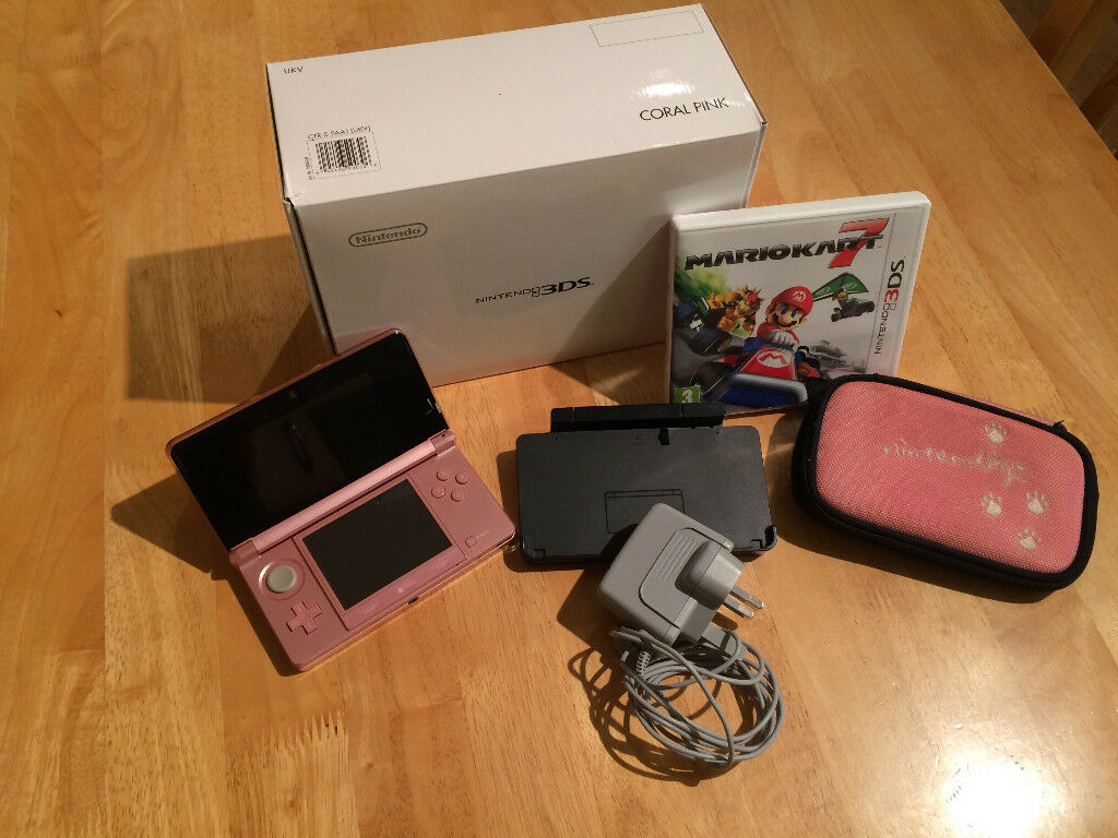 Nintendo 3DS Console in Pink Bundle