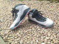 Air Jordan 10 Cool Grey UK8 *Good condition*