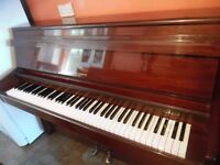 upright piano by barrat and robinson -- summer sale price--