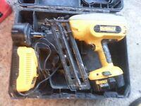 Dewalt DC618 18v 2nd Fix Nail Gun