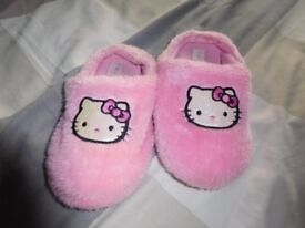 Hello kitty slipper - size 10/11 infant girls great condition