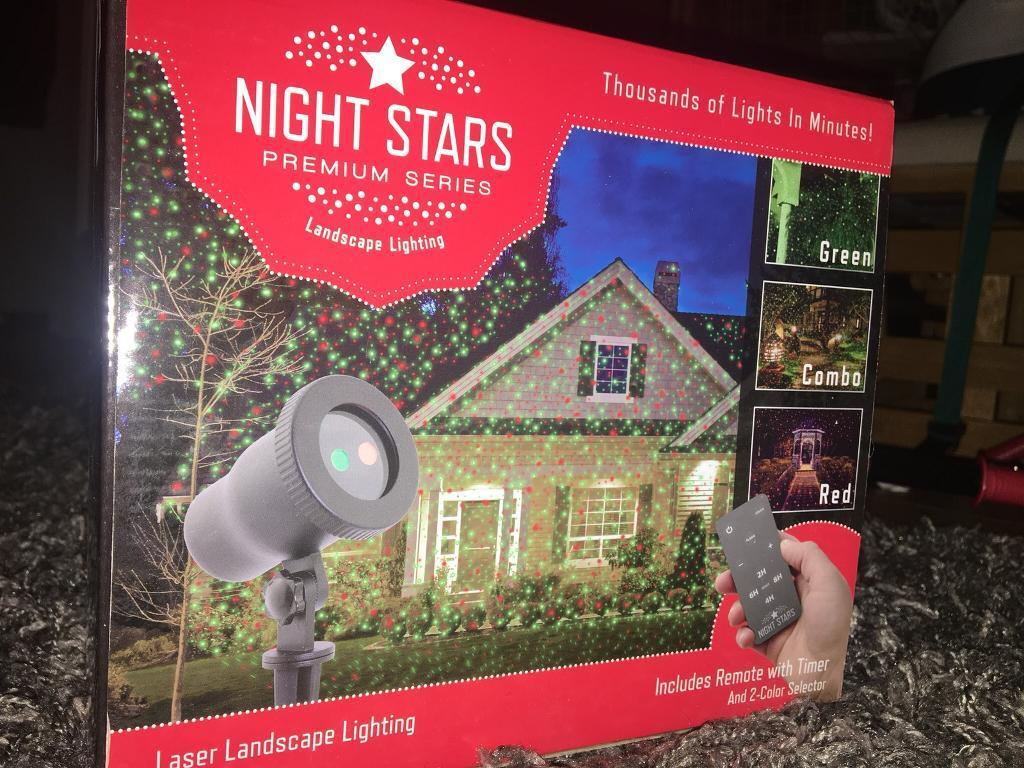 Christmas Laser Lights - Night Stars - Unopened