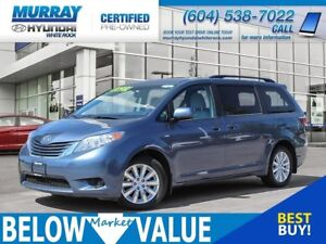 2016 Toyota Sienna LE AWD **HEATED SEATS**BLUETOOTH**REAR CAMERA