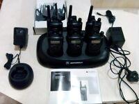 Motorola XTN446 walkie talkies x 6