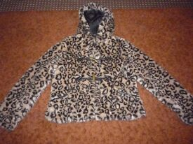 cheaper, 5,00 ono,,,FUR WITH HOOD, SIZE 12-14
