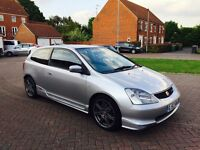 Honda Civic 2.0 i Type R Hatchback 3dr Petrol Manual 197 bhp