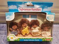 Sylvanian Families - Hedgehog Family Figures - New!!!