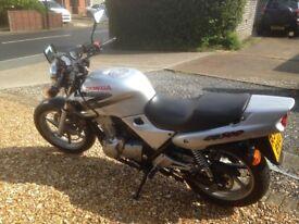 1998 Honda CB500 in very good condition, 18000 miles, FSH