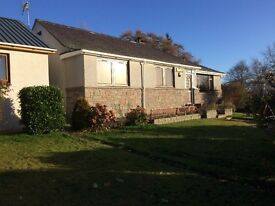 House for Rent/Let ,3 bedrooms,large garage/workshop,14 miles from Inverness,rural location