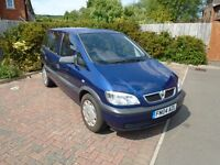 2004 zafira with 52000 mile replacement engine fitted