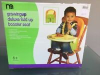 Mothercare Growing Up Deluxe Fold Up Booster Seat