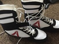 Reebok Boxing Boots - White